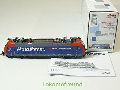 Märklin H0 36627, E - Lok Re 482, SBB, digital, mfx, sound, neu, OVP