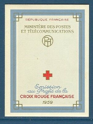 STAMPS - France Carnet CROIX ROUGE 1959 NEUF** LUXE