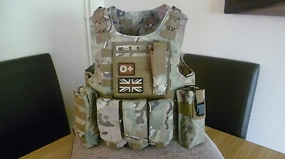 Molle Tactical Vest, like Osprey Chest webbing MTP Multicam Airsoft Cadets *NEW*