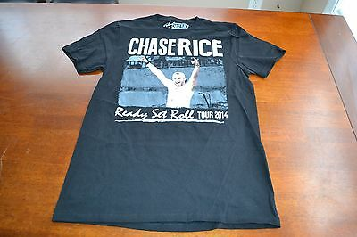 Nwot Chase Rice 2014 Ready Set Roll Tour Concert T-Shirt Adult Small