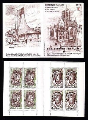 STAMPS - France Carnet CROIX ROUGE 1979 NEUF** LUXE