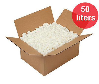 50 Liters Packing Foam Peanuts Pellets For Safe Postage Shipping