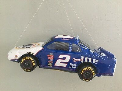 1993 Ford Miller Lite Beer #2 Rusty Wallace Inflatable Nascar Race Car Bar Sign