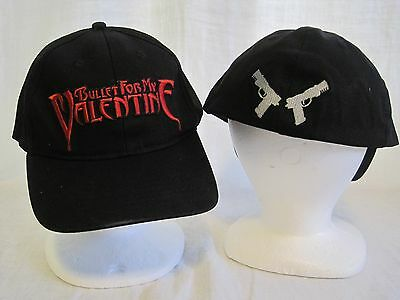 Bullet For My Valentine Cap Logo Hat Heavy Metal Band Music Welsh UK Tuck New 08