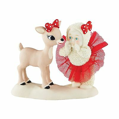 """Department 56 - Snowbabies - Guest Collection """" I THINK HE'S CUTE """" #4051844"""