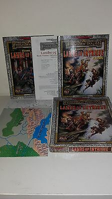 Dungeons & Dragons Forgotten Realms LANDS OF INTRIGUE TSR 1159 Edizione INGLESE