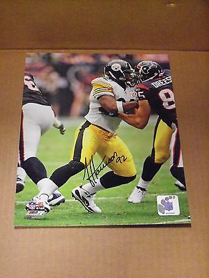 James Harrison, Pgh Steelers, Signed 8 x 10 Photo File Photo, Clean