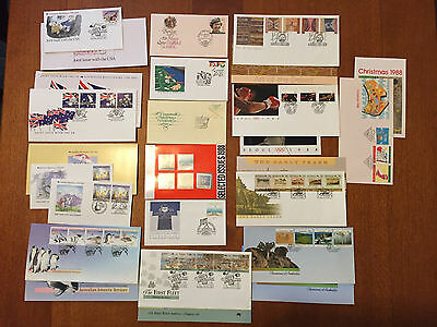 1988 First Day Covers and Australia Post Office Packs