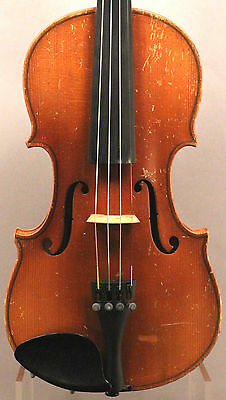 Old, Antique, Vintage Violin 3/4 Size with Bow and Case