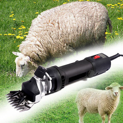 320W Electric Sheep Goat Clippers Shears Livestock Animal Grooming Shearing Farm