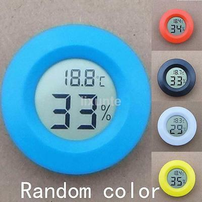 Fashion LCD Digital Temperature Tester Thermometer Hygrometer Humidity Meter UK