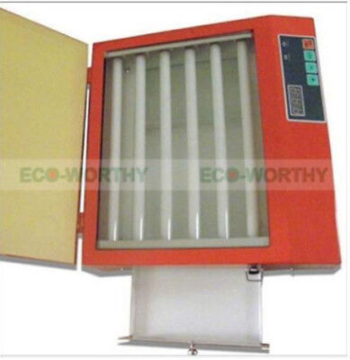 ECO UV Exposure Unit for Hot Foil Pad Printing PCB With Drawer 220V 50W 210*260m