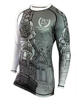 BJJ Rash Guard, Long Sleeve - Praetorian Prefect Statua BBJ MMA No-gi