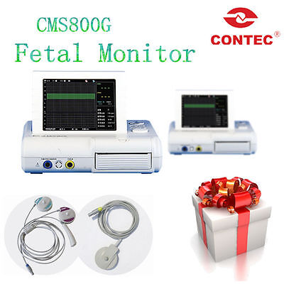 CE Ultrasound Prenatal Fetal Movement monitor,FHR TOCO CMS800G, LCD rotatable