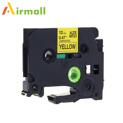 TZ-631 TZe-631 Label Tape Compatible for Brother P-Touch Laminated Ribbon 12 mm