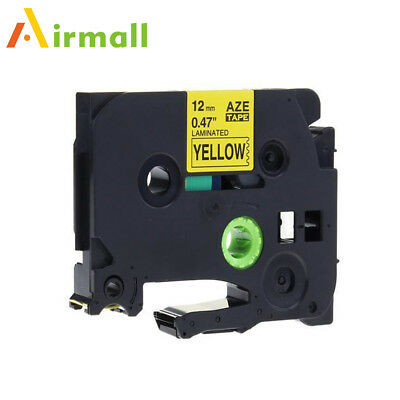 TZ-631 TZe-631 P-Touch Label Tape Compatible for Brother Laminated Ribbon 12mm