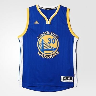 NEW Golden State Warrriors Stephen Curry NBA Swingman Road Jersey by adidas