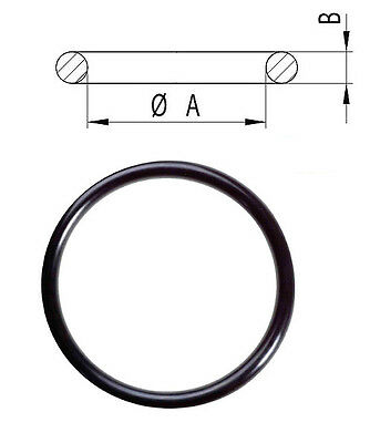 Exhaust Gasket Seal O-Ring Rubber Carburetor D27 Motorcycle Scooter Doppler Rr7