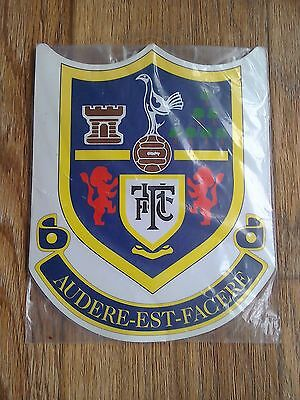 Tottenham Hotspur 1990's Sealed Club Crest Badge Mouse Mat Wall Pennant Spurs