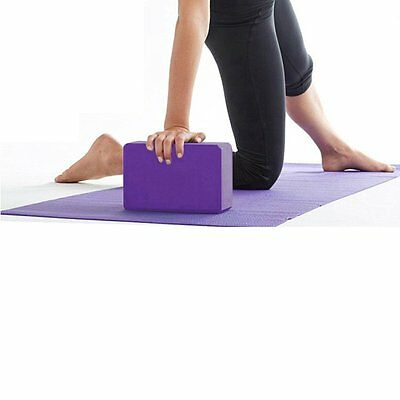 EVA Yoga Block Brick Foaming Foam Home Exercise Fitness Health tool BE