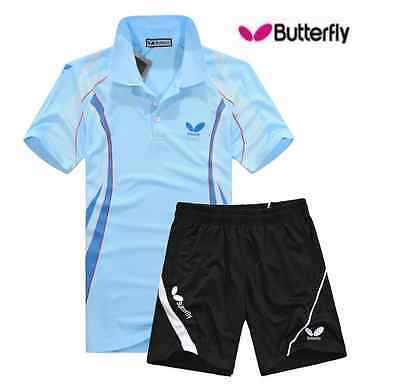 Butterfly table tennis shorts couples dress suit men and women badminton sports