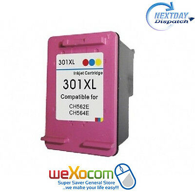 HP 301XL Colour Ink Cartridge Compatible