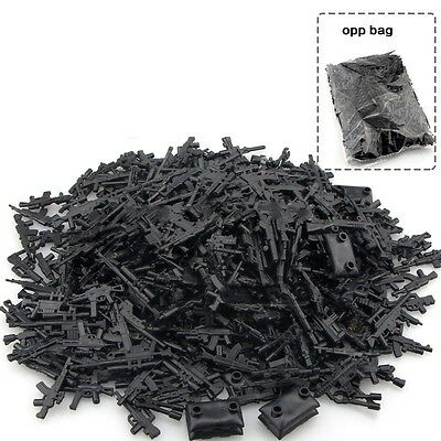 200g DIY Military Series Swat Police Gun Weapons Pack Army Lego Minifigure Toys
