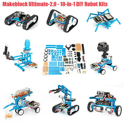 Makeblock Ultimate 2.0 10in1 DIY Robot Kit Graphical Programming Educational Toy