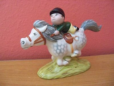 Royal Doulton BESWICK   Thelwell   PONY EXPRESS  1st Variation  Retired 1989