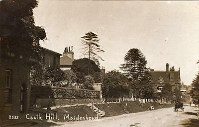 Castle Hill Maidenhead RP old pc used 1916