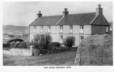Park House Carloway Isle of Lewis Outer Hebrides unused RP old pc