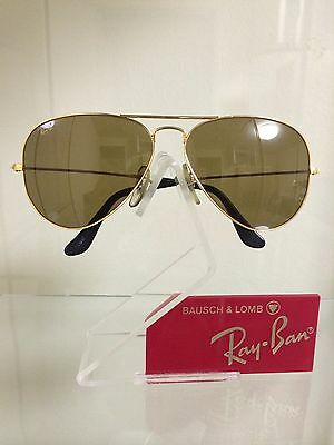 vintage ray ban bausch and lomb  vintage ray ban bausch and lomb outdoorsman chromax gold 58mm