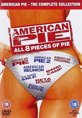 American Pie 1- 8 - Complete - New / Sealed Dvd - Uk Stock