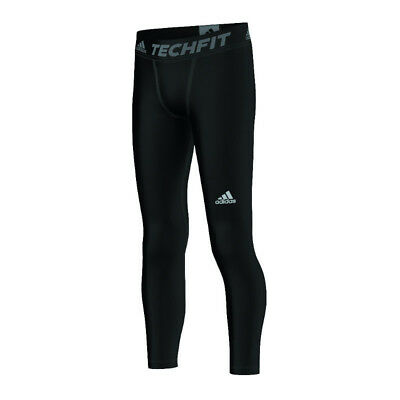 adidas Tech Fit Base Tight Kids Schwarz