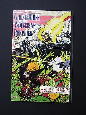 Ghost Rider Wolverine Punisher: Hearts of Darkness #1  1991 F  Graphic Novel