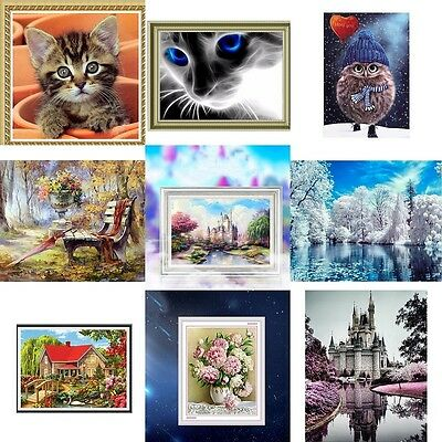 DIY 5D Diamond Painting  Embroidery Cross Crafts Stitch Home Dekor Selling Cute