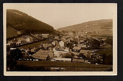 Talybont -  real photographic postcard