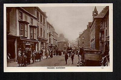 Pendre, Cardigan - real photographic postcard