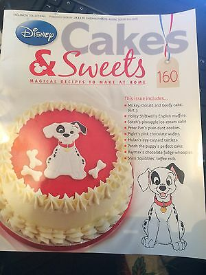 Disney Cakes And Sweets Magazine Last Issue!!! No. 160!