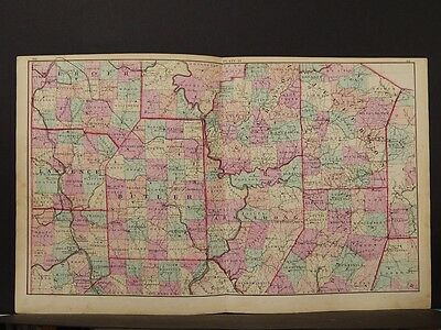 State of Pennsylvania Map, 1874, West Central Section, K1#57