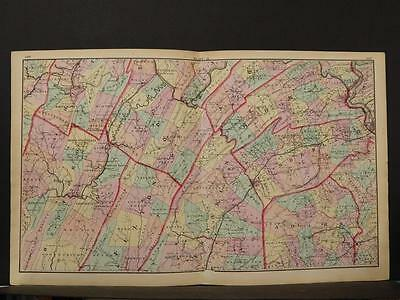 State of Pennsylvania Map, 1874, South Central Section, K1#60