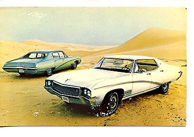 1968 Buick Skylark Custom 4 Door Sedan Car-Vintage Auto Advertising Postcard
