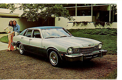 1976 Mercury Comet Sedan Car-Sedalia MO-Vintage Automobile Advertising Postcard