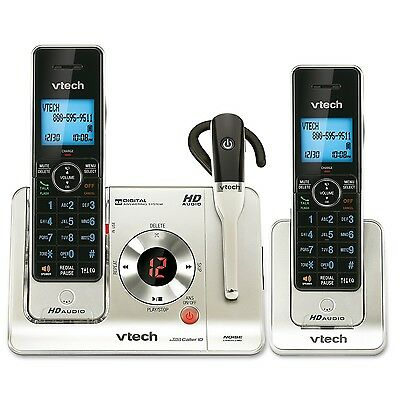 VTech LS6475-3 DECT 6.0 Expandable Cordless Phone with Answering System a... New