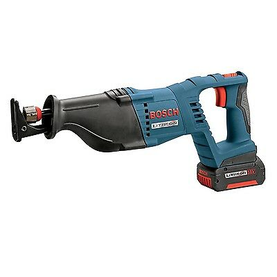 """Bosch 18V 1.13"""" Reciprocating Saw + Battery & Charger (Certified Refurbished)"""