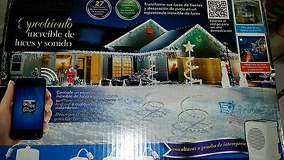 HOLIDAY BRILLIANT Spectacular  Lights & Sounds Show Bluetooth MIB  CHRISTMAS MR.