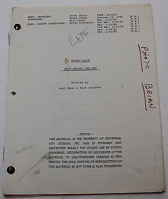 House Calls * 1980 TV Series Show Script * with MASH actor Wayne Rogers, Comedy