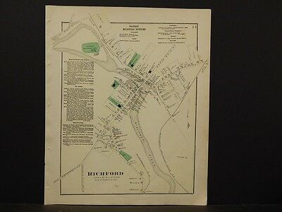 Vermont, Franklin County Map, 1871, Richford, K2#08