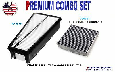 Combo Set Engine And Carbon Element Cabin Air Filter Fits SCION TC 2005-2010