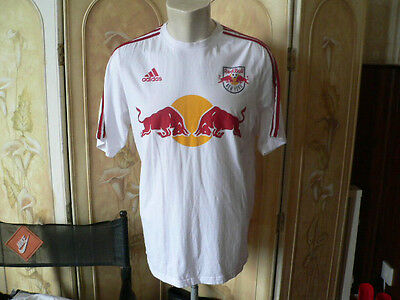 new york red bulls adidas T shirt size 42 MLS football soccer USA